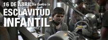 Dia mundial contra l'esclavitud infantil