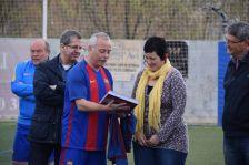 Lliurament diccionari Barça per part de l'ABJ