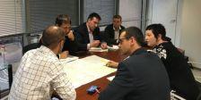 Reunió projecte millora seguretat vial de la C-1415a